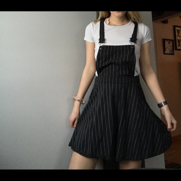 ed3132b609 Dresses   Skirts - Pinstripe Overall Dress